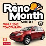 Reno Month contest graphic