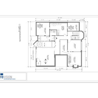 Basement Renovation Drawings Before