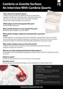 Cambria Infographic