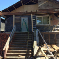 Home renovation during
