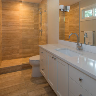 full house renovation After - Master Ensuite