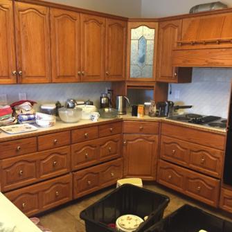 90s Kitchen - Before