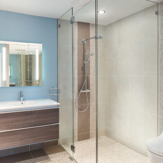 Bathroom Renovation by Revision Renovations