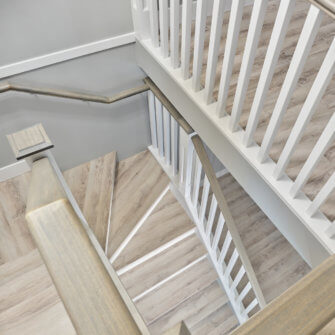 Townhouse Stairs after