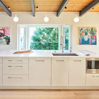 Kitchen Island Renovation - After