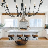 Houzz Kitchen Wood and White