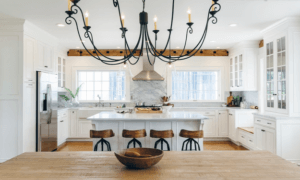 Houzz Kitchen Wood and White