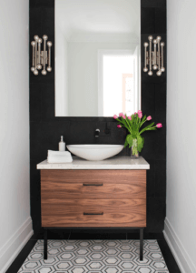 Houzz bathroom. How to look bigger