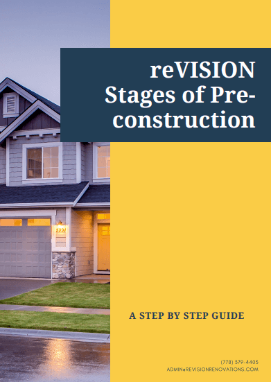 Stages of pre-construction guide