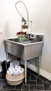 Steel-sink