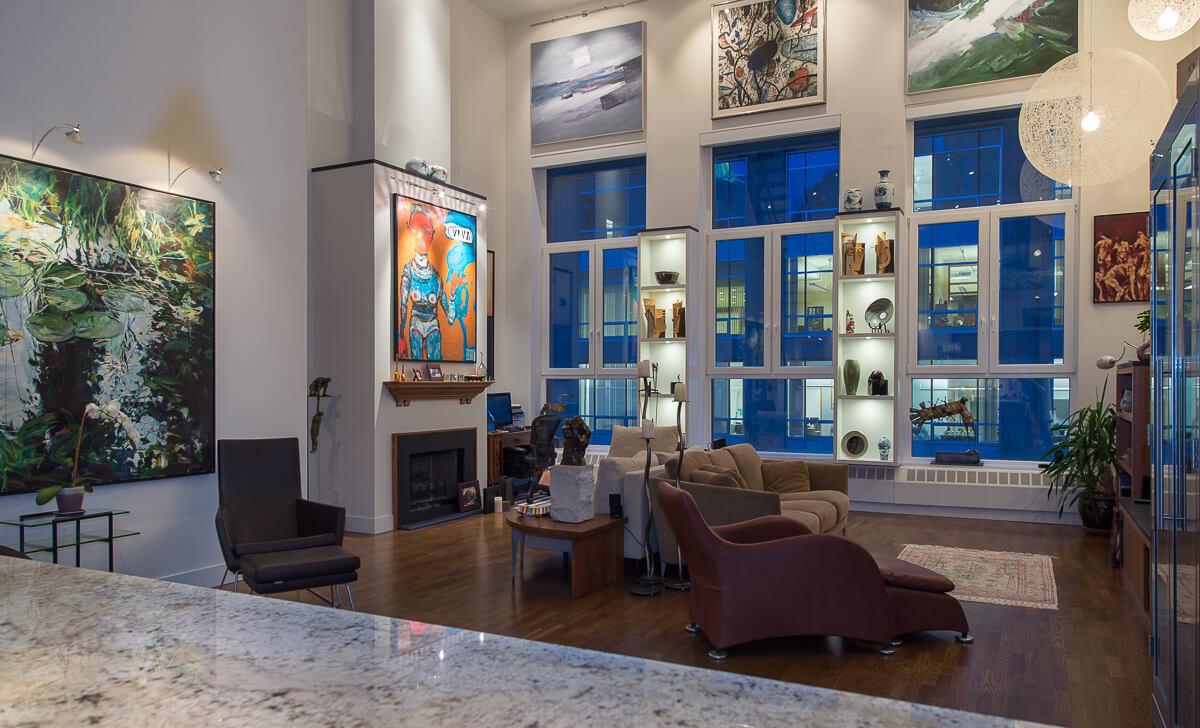 Vancouver loft renovation