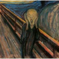 Some art historians believe that The Scream was inspired by a renovation Edvard Munch was having on his home