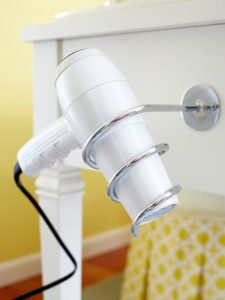 hairdryer-holder