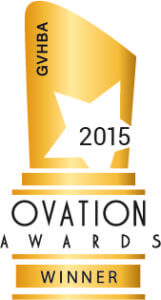 GVHBA 2015 Ovation Award Winner