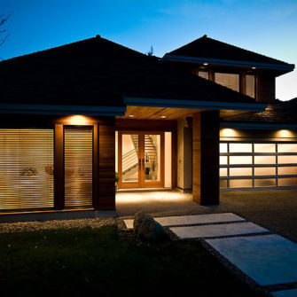 Whole home renovation exterior