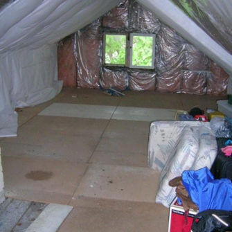 Before - Attic