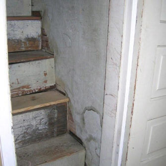 Before - Staircase to Attic
