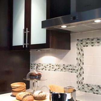 After kitchen renovation tiles