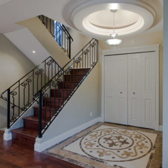 Entry renovation