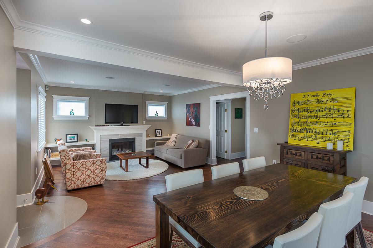 Interior Renovation - Living Room